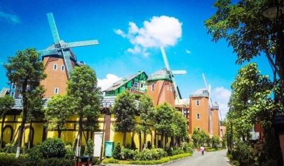 河源五星国际酒店+音乐喷泉+德国童话小镇+水上高尔夫2天游