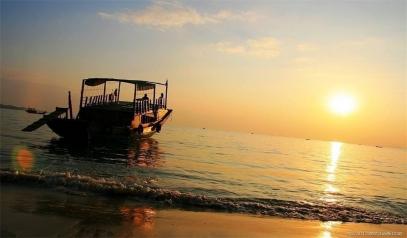 惠东巽寮湾出海捕鱼、三角洲岛一天